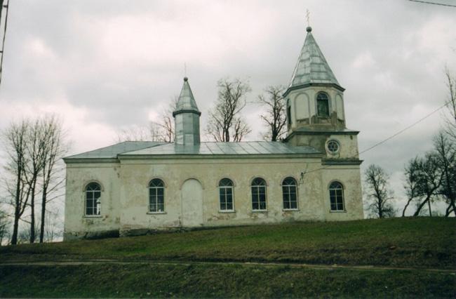 Церковь Троицы Живоначальной в Лаздоне