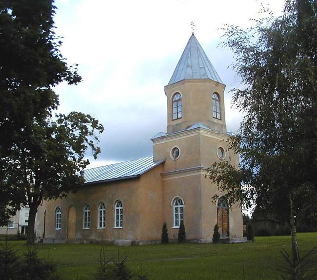 Иоанно-Предтеченская церковь в Ляудоне.