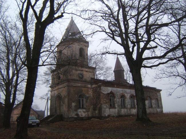 Свято-Никольская церковь в Заубе