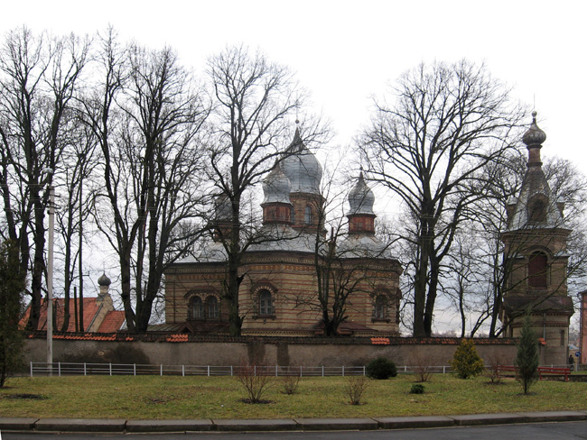 Церковь Св. Духа и колокольня Свято-Духова монастыря в Якобштадте