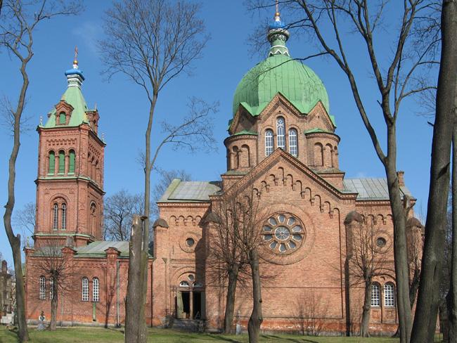 Всехсвятская церковь в Риге