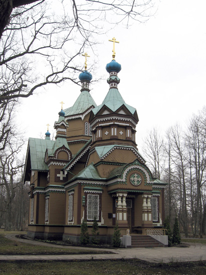 Церковь Петра и Павла в Кемери