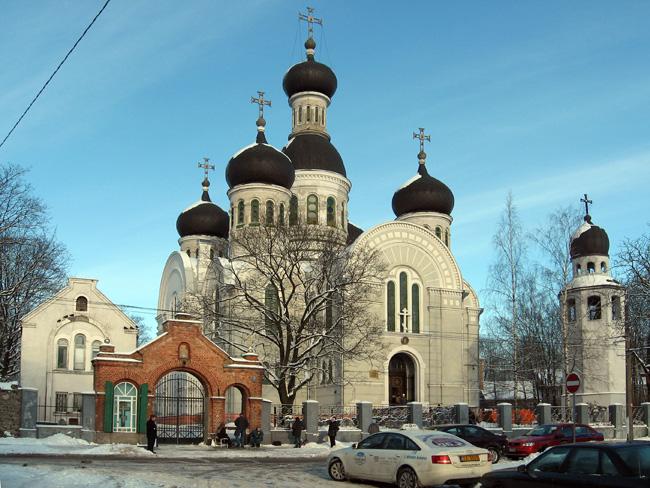 Церковь Усекновения Главы Иоанна Предтечи на Ивановском кладбище в Риге
