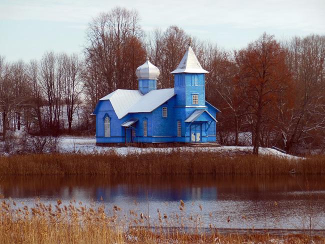 Староверская моленная Покрова Пресвятой Богородицы и св. Николы в Фольваровке