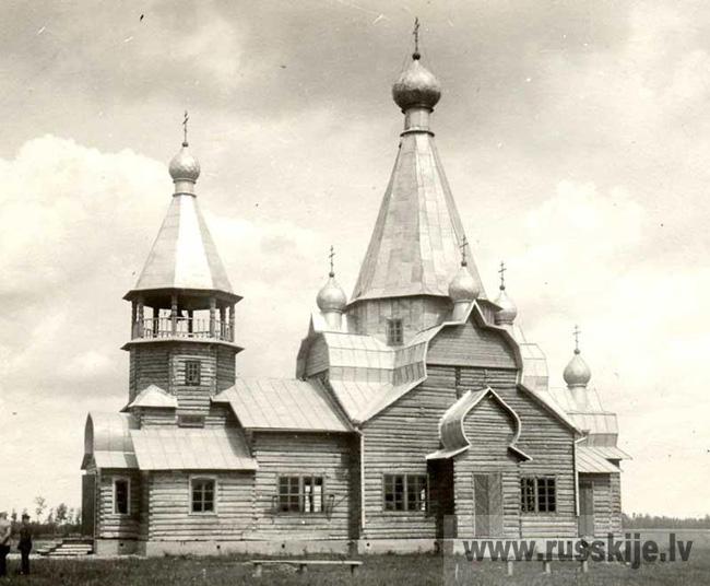 Церковь св. Николая Чудотворца в Пыталово Псковской обл. (Абрене)