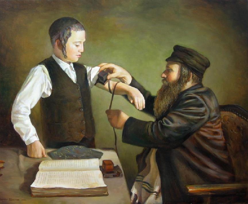 традиция ношения тфилин в иудаизме