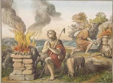 история Каина и Авеля