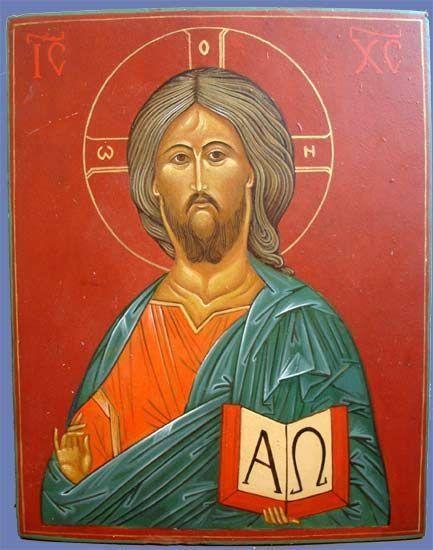 православная икона Спаса Вседержителя